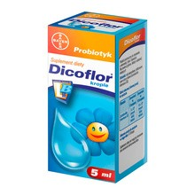 Dicoflor, krople doustne, probiotyk, (Bayer), 5 ml