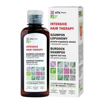 Intensive Hair Therapy, szampon łopianowy przeciw wypadaniu włosów, 200 ml