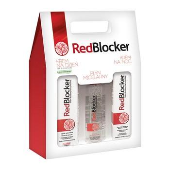 Zestaw Promocyjny RedBlocker, płyn micelarny, 200 ml + krem na dzień, 50 ml + krem na noc, 50 ml