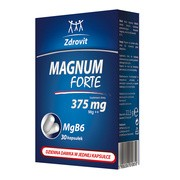 Zdrovit Magnum Forte 375 mg, kapsułki, 30 szt.