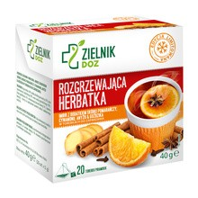 ZIELNIK DOZ Rozgrzewająca herbatka, 2 g, 20 saszetek