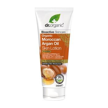 Dr. Organic Moroccan Argan Oil, balsam do ciała z olejkiem arganowym, 200 ml