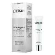 Lierac Cica-Filler Mat, przeciwzmarszczkowy żel-krem regeneracyjny dla skóry normalnej i mieszanej, 40ml