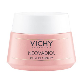 Vichy Neovadiol Rose Platinum, różany krem wzmacniająco-rewitalizujący, 50 ml