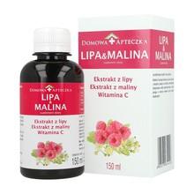Lipa&Malina, witamina C, płyn, 150 ml