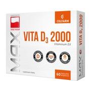 Max Vita D3 2000, kapsułki, 60 szt.