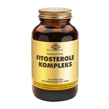 Solgar Fitosterole Kompleks, kapsułki, 100 szt.