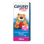 Cerutin Junior malina, syrop, 120 ml