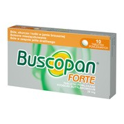 Buscopan Forte, 20 mg, tabletki powlekane, 10 szt.