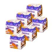 Zestaw 6x Nutridrink Protein, smak brzoskwinia-mango, 4 x 125 ml