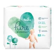 Pampers Pure Protection 4 (9−14 kg), pieluszki jednorazowe, 28 szt.