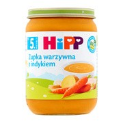 HiPP BIO zupka warzywna z indykiem, po 5. miesiącu, 190 g