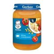Gerber, mintaj z warzywami, 8 m+, 190 g
