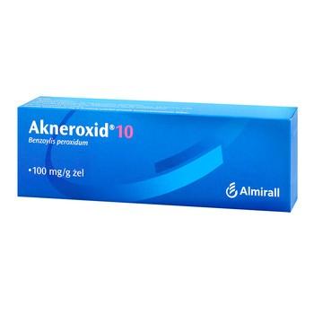 Akneroxid 10, 10%, żel, 50 g
