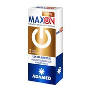 Maxon Forte, 50 mg, tabletki powlekane, 2 szt.