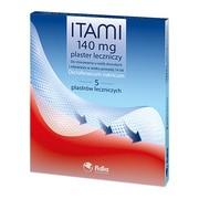 Itami, 140 mg, plastry lecznicze, 5 szt.