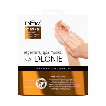 L`Biotica, regenerująca maska na dłonie, 26 g (nasączone rękawiczki)