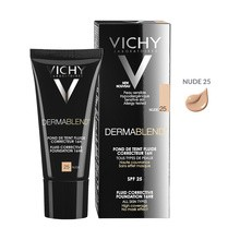 Vichy Dermablend, fluid korygujący 16 h trwałość SPF 35, 25 Nude, 30 ml