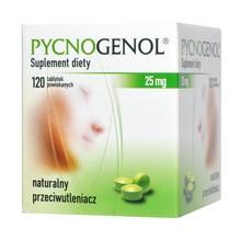 Pycnogenol, 25 mg, tabletki powlekane, 120 szt.