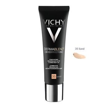 Vichy Dermablend 3D, podkład wyrównujący powierzchnię skóry, 35 Sand, 30 ml