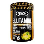 Real pharm, Glutamine, smak cytrynowy, proszek, 500 g