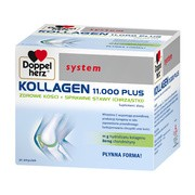 Doppelherz System Kollagen 11.000 Plus, płyn, 25 ml, ampułki, 30 szt.