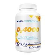 Allnutrition D3 4000, tabletki, 120 szt.