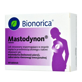 Mastodynon, tabletki, 60 szt.