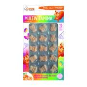 DOZ PRODUCT Multivitamina, tabletki do ssania dla dzieci, smak mandarynkowy, 15 szt.