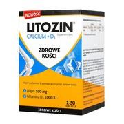 Litozin Calcium + D3, tabletek, 120 szt.