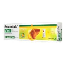 Essentiale Vital, 600 mg, pasta doustna, 21 saszetek