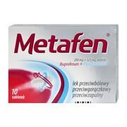 Metafen, tabletki, 10 szt.