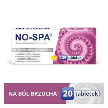 No-Spa, 40 mg, tabletki, 20 szt.