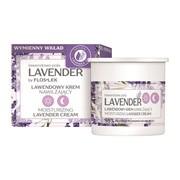 FlosLek Lavender, lawendowy krem nawilżający na dzień i na noc, Refill, 50 ml
