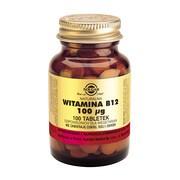 Solgar Witamina B12, tabletki, 100 szt.