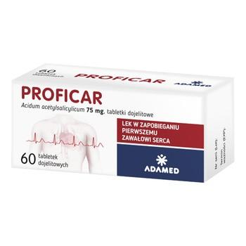 Proficar, 75 mg, tabletki dojelitowe, 60 szt.
