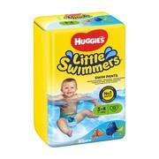 Huggies Little Swimmers 3−4 (7−15 kg), pieluchomajtki do pływania, 12 szt.