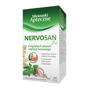 Nervosan fix, zioła do zaparzania, 2 g, 20 szt.