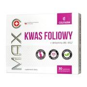 Max Kwas foliowy, 0,4 mg, tabletki, 30 szt. (Colfarm)