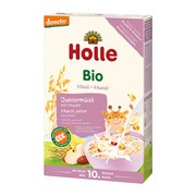 Holle Bio Junior, kaszka-musli, wieloziarnista, owocowa, 10 m+, 250 g