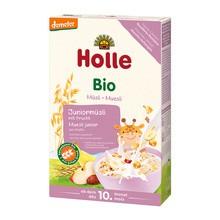 Holle Bio Junior, kaszka-musli, wieloziarnista, owocowa, 250 g