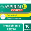 Aspirin C Forte, 800 mg + 480 mg, tabletki musujące, 10 szt.