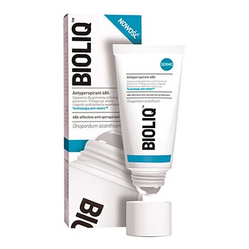 Bioliq Dermo, antyperspirant 48h, roll-on, 50 ml