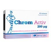 Olimp Chrom Activ, 200 µg, tabletki, 60 szt.