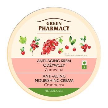 Green Pharmacy, anti-aging krem odżywczy, żurawina, 150 ml