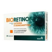 Bioretinof luteina z zeaksantyną, tabletki powlekane, 30 szt.