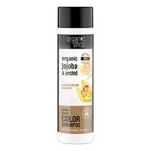 Organic Shop, szampon do włosów, rozświetlający kolor, złota orchidea, 280 ml
