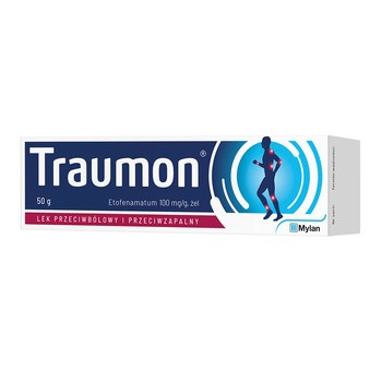 Traumon, (100 mg/g), żel, 50 g