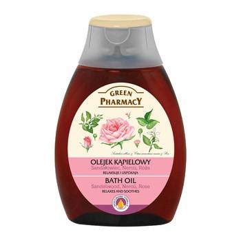 Green Pharmacy, olejek do kąpieli, sandałowiec, neroli, róża, 250 ml