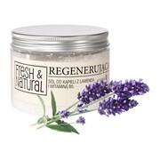 Fresh&Natural, regenerująca sól do kąpieli z lawendą i witamina B5, 500 g
